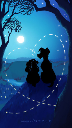 disney wallpaper called disney Valentine's hari Phone wallpaper