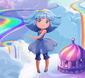 Dreamtopia - Blue Princess