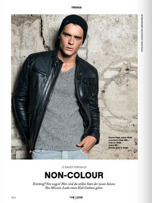 Edison Kelmendi, hot Albanian model
