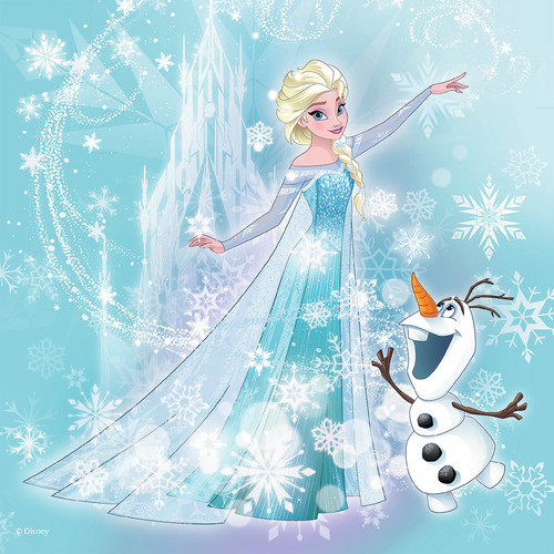 elsa e ana wallpaper titled Elsa and Olaf