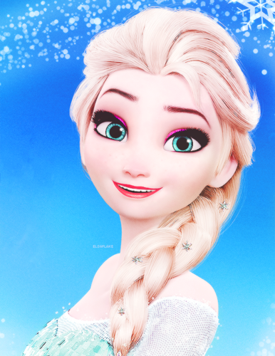 Frozen - Uma Aventura Congelante - Uma Aventura Congelante wallpaper probably containing a portrait entitled Elsa