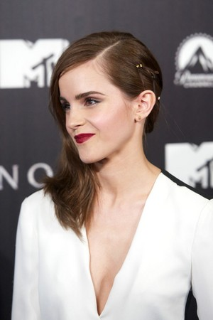 Emma Watson at the Première