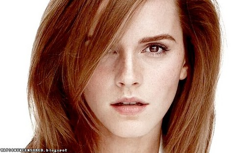 Emma Watson wallpaper with a portrait called Emma's 1st photoshoot of 2016