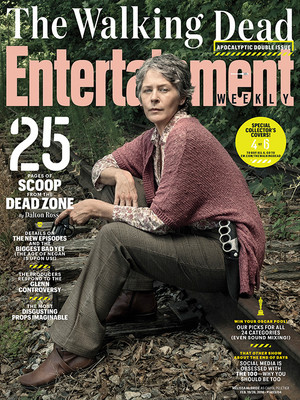 Entertainment Weekly Cover ~ Carol Peletier