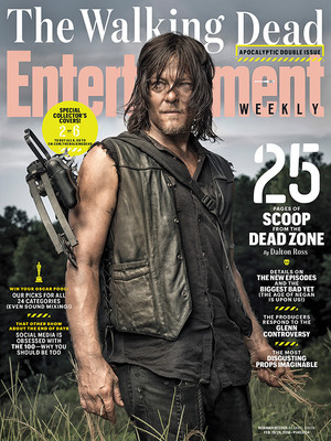 Entertainment Weekly Cover ~ Daryl Dixon