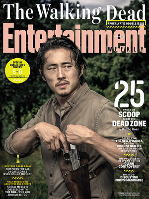 Entertainment Weekly Cover ~ Glenn Rhee