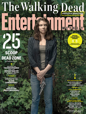 Entertainment Weekly Cover ~ Maggie Greene