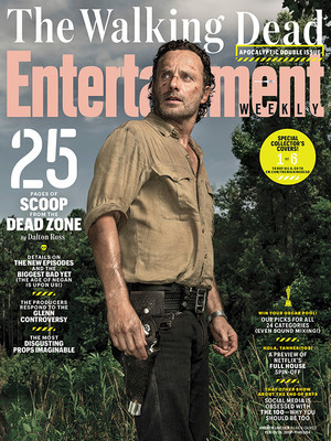 Entertainment Weekly Cover ~ Rick Grimes
