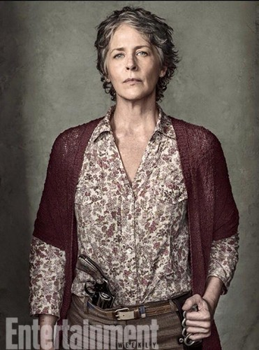 The Walking Dead karatasi la kupamba ukuta titled Entertainment Weekly Portraits ~ Carol Peletier