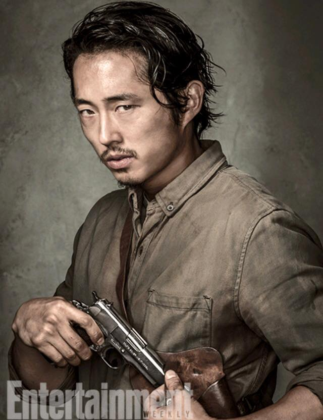 Entertainment Weekly Portraits ~ Glenn Rhee