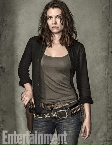 ang paglakad patay wolpeyper with a hip boot entitled Entertainment Weekly Portraits ~ Maggie Greene