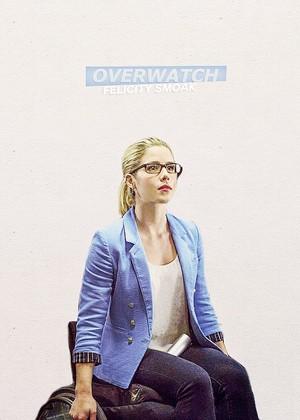 Felicity Smoak → Overwatch