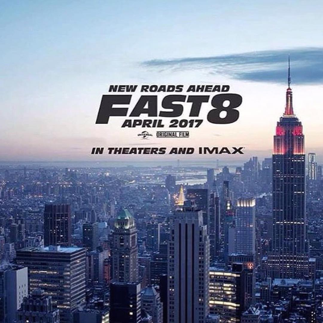 First image for Fast 8!