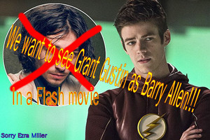 Flash Movie: Grant Gustin is the only Flash to us!!!!!!!