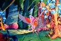 Flutterina and Arrow - she-ra-princess-of-power fan art