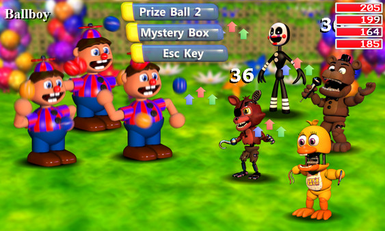 Fnaf world - Steam 5