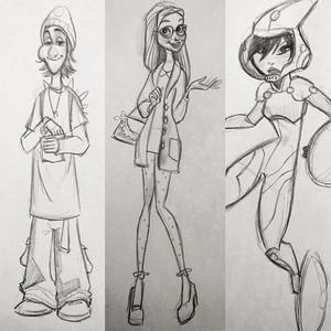Fred, Honey chanh and GoGo Tomago