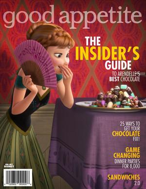 Frozen Magazine Cover