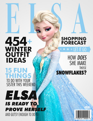 frozen Magazine Covers
