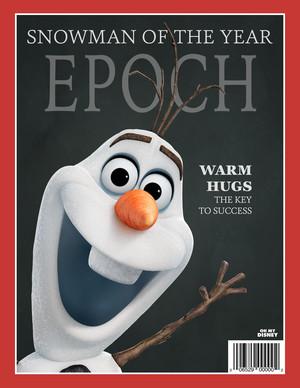 Frozen Magazine Covers