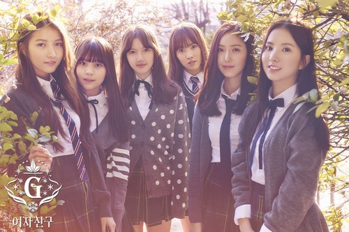 GFriend Обои possibly with a well dressed person and a business suit entitled GFriend