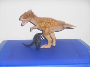 Godzilla e il giganotosauro