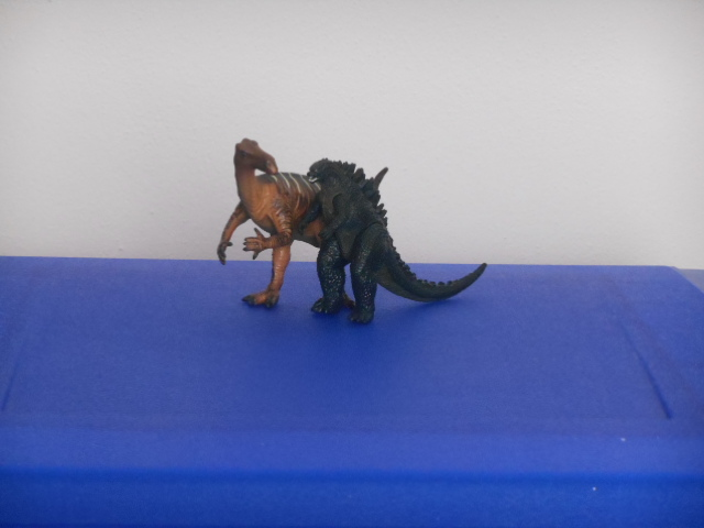 Godzilla e l'iguanodonte
