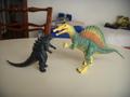 Godzilla e lo spinosauro.JPG - godzilla photo