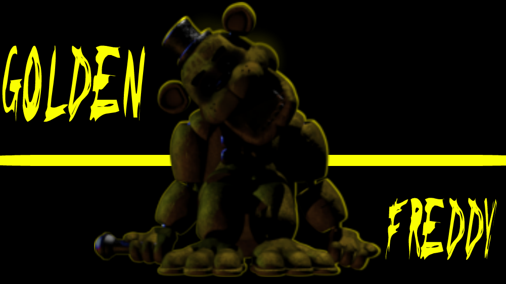 Golden freddy 壁纸