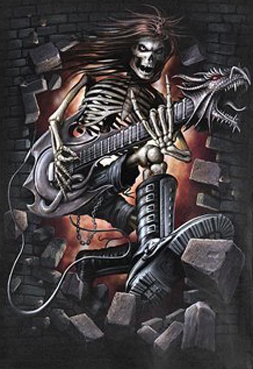 hard rock bands skull - photo #36