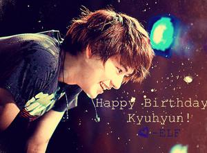 Happy Birthday Kyuhyun! ♥
