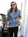 Harry shopping at Saint Laurent - harry-styles photo