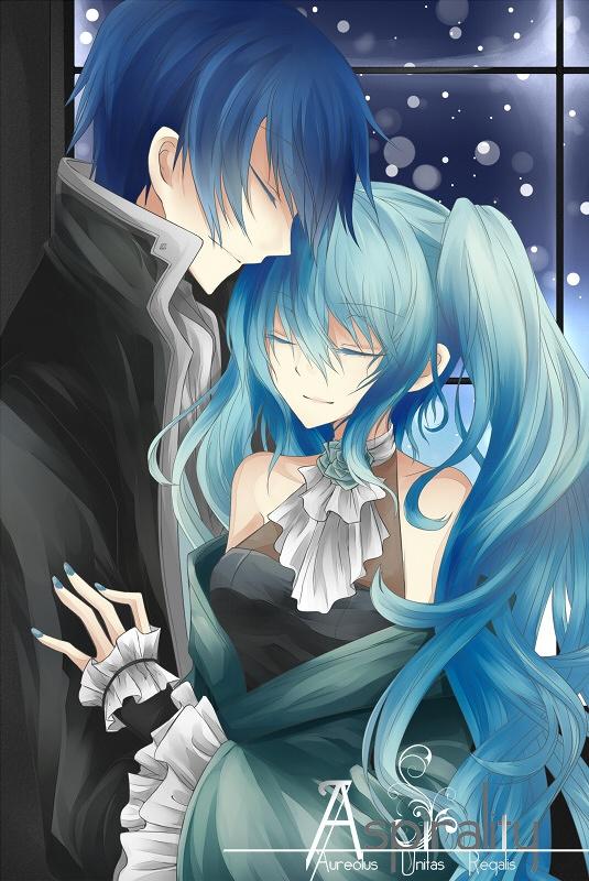Hatsune Miku and KAITO