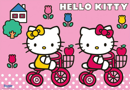 Hello Kitty wallpaper possibly containing anime titled Hello Kitty