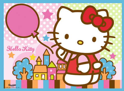 hello kitty wallpaper probably with animê titled Hello Kitty