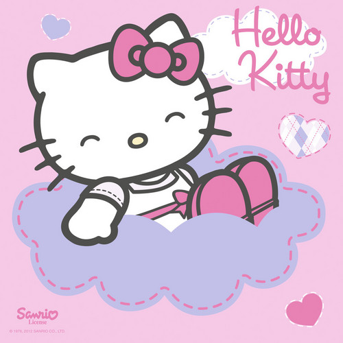 Hello Kitty wallpaper possibly with a venn diagram and anime called Hello Kitty
