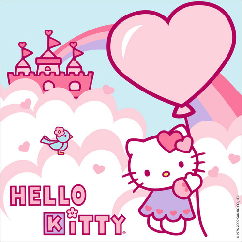 Hello Kitty wallpaper with a laptop titled Hello Kitty