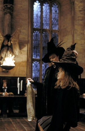 Hermione Philosophers Stones Promotional Stills