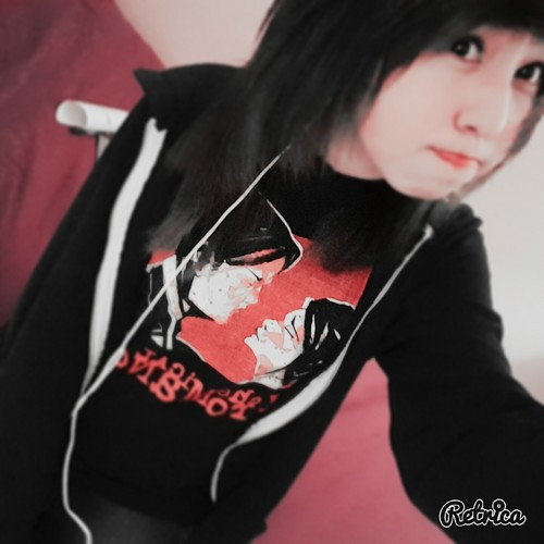 emo girls wallpaper probably with a jersey entitled IMG 20160119 171905
