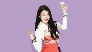 IU Wallpaper for Chamisul [Edited by IUmushimushi]