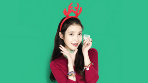 IU wallpaper for Chamisul [Edited da IUmushimushi]