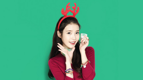 IU wallpaper probably with a leotard and a portrait called IU Wallpaper for Chamisul [Edited by IUmushimushi]