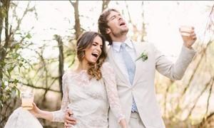 Ian Somerhalder and Nikki Reed Wedding Picture