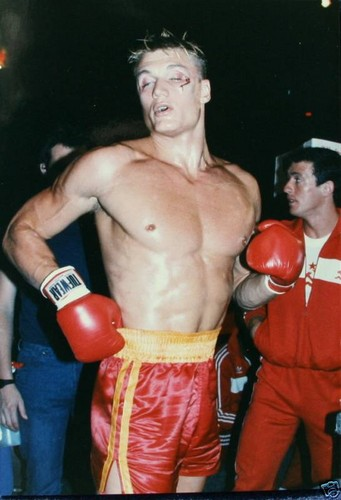 Rocky wallpaper with a hunk called Ivan Drago
