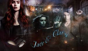 Jace/Clary پیپر وال