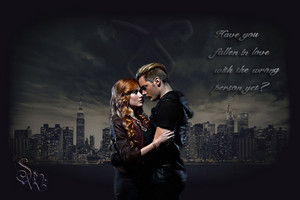 Jace/Clary wallpaper