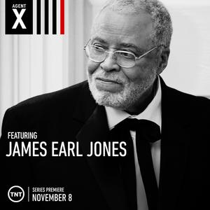 James Earl Jones (Agent X).