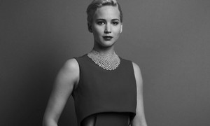 Jennifer Lawrence Golden Globe 2016 Portrait