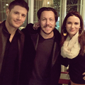 Jensen and Danneele - jensen-ackles photo