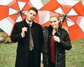 Jensen and Kathryn - supernatural photo